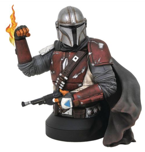 Gentle Giant Star Wars The Mandalorian 1/6 Scale MK1 15cm Bust - Pre-order monthly pay